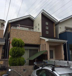 蟹江町 Y様邸 外壁・屋根塗装工事