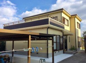 桑名市 I様邸 外壁塗装・屋上防水工事