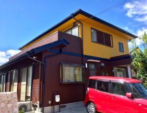 あま市 K様邸 外壁・屋根塗装工事