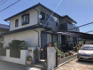 弥富市 K様邸 ダイワハウス  外壁・屋根塗装工事