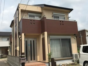 一宮市 K様邸 タニヅホーム 外壁塗装工事