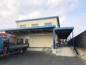 桑名市長島町 M運輸様邸 外壁・屋根塗装工事