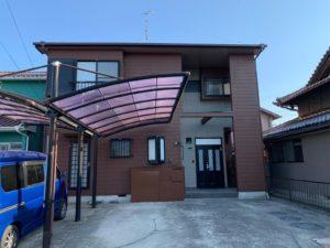 稲沢市 U様邸 外壁・屋根塗装工事