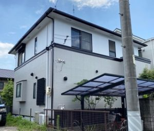 名古屋市南区 F様邸 外壁・屋根塗装工事