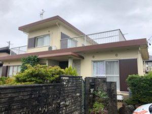 江南市 A様邸 外壁塗装、屋根ベランダ防水工事