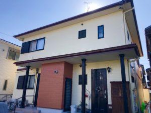 北名古屋市 O様邸 外壁・屋根塗装工事