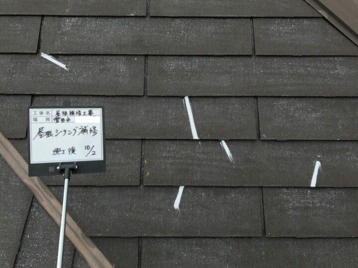 シーリング補修(屋根)