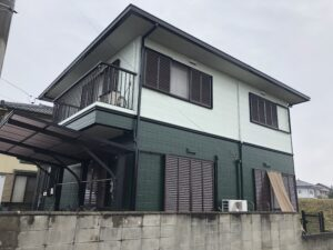 あま市 S様邸 外壁・屋根塗装工事