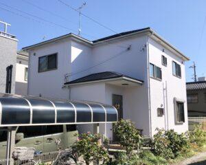 一宮市 T様邸 外壁・屋根塗装工事