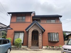 一宮市 B様邸 外壁・屋根塗装工事