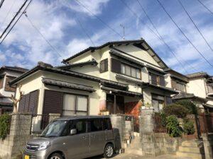 桑名市長島町 I様邸 外壁塗装・屋根工事