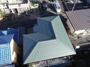 稲沢市 H様邸 屋根板金カバー工事