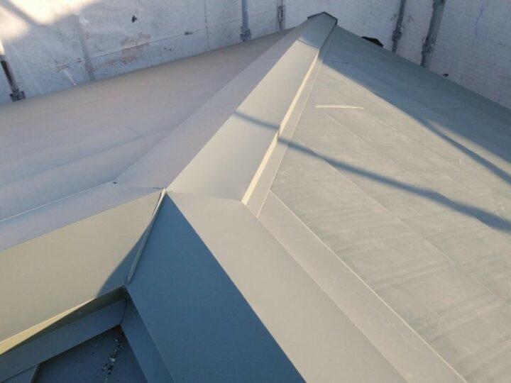 屋根板金カバー工事施工(隅棟)