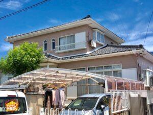 海部郡蟹江町 T様邸 外壁塗装・屋根工事