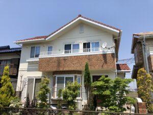 北名古屋市 S様邸 外壁塗装・屋根漆喰工事