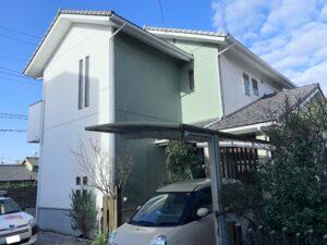 弥富市 M様邸 外壁塗装・屋根漆喰工事