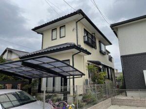 津島市 S様邸 屋根塗装工事